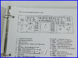 Ten-Tec Eagle 559AT Ham Radio Transceiver with Manuals SN 305267103O