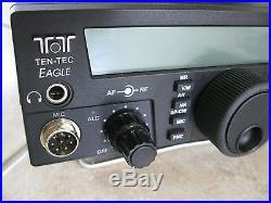 Ten Tec Eagle 599AT HF/6M 100 watt IF DSP transceiver in