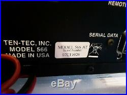 Ten Tec Orion II Model 566AT HF Transceiver
