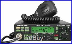 Top Seller! President Lincoln II+ 10/12 Meter Transceiver with Resistor Installed