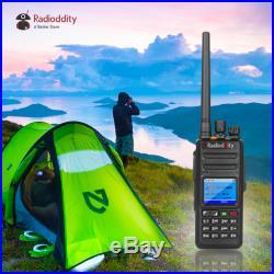 US Radioddity GD-55 Plus DMR IP67 10W High Power UHF Digital Two way Ham Radio