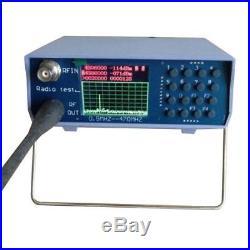 U/V UHF VHF Dualband Spektrumanalysator mit Tracking Source Tuning Duplexer Neu