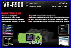 VERO VR-6900 Dual Band FM Transciever UHF & VHF Mobile Amateur Ham Radio