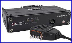 VERO VR-N7500 50W VHF/UHF Headless Mobile HAM Radio with BT and App Programming