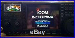 Very Nice Icom Pro 3 Tranceiver