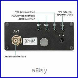 XIEGU G1M Portable QRP HF Transceiver 0.5-30MHz SDR SSB CW AM Amateur HAM Radio