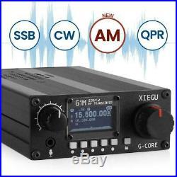 XIEGU G1M Portable QRP HF Transceiver SDR Transceiver Multi-band SSB CW AM Mode