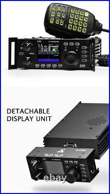 Xiegu G90 HF SDR transceiver 20W SSB/CWithAM/FM 0.5-30MHz Radio ATU Amateur Radio
