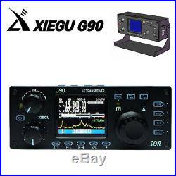 Xiegu G90 HF transceiver 20W SSB/CWithAM/FM 0.5-30MHz SDR Radio with Antenna tuner