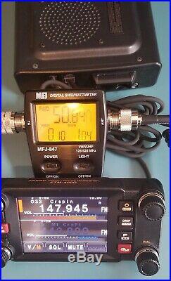YAESU FTM-400DR/DE 50W 144/430MHz Dual Band Transceiver Ham Radio