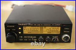 YAESU FT-4700H 144/430MHz withMic Hi Power Transceiver Tested Working Good F/S