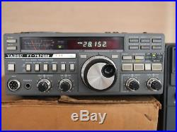 YAESU FT-757GXII HF 10-160 Meter Amateur Radio Transceiver