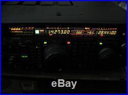 Yaesu FT-1000MP Mark V 200W HF Transceiver in very nice shape with