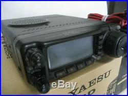 Yaesu FT-100D HF VHF UHF ham raAdio transceiver 25 amp with Box