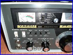 Yaesu FT-101B ham radio transceiver, really clean (no reserve)(video inc)