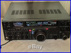 Yaesu FT-2000 transceiver with DMU-2000 management unit. Free shipping
