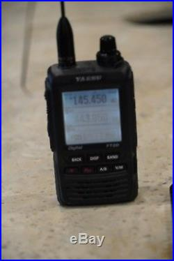 Yaesu FT-2DR System Fusion VHF/UHF Handheld Ham Radio