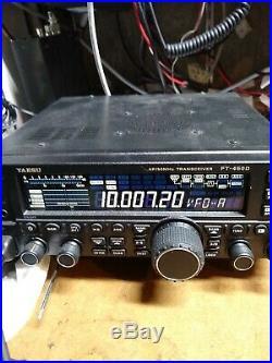 Yaesu FT-450D 100 Watt Ham Radio built in Tuner, Excellent Cond, Original Box