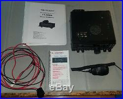 Yaesu FT-450D HF/50MHz Amateur Radio Transceiver, Built In Tuner and quick guide