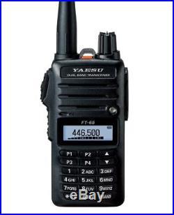 Yaesu FT-65R Dual Band VHF/UHF 5W Hand Held Transceiver MARS/CAP Modified