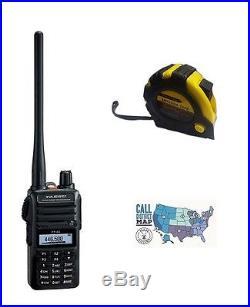 Yaesu FT-65R VHF/UHF 5W Handheld Transceiver with FREE Radiowavz Antenna Tape