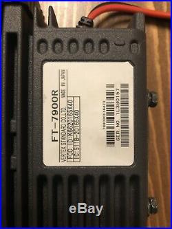 Yaesu FT-7900R 2 Meter / 70 cm Dual Band FM Transceiver Ham Amateur Radio Remote