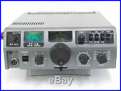 Yaesu FT 7B HF 50W SSB CW AM Transceiver #1826.0302.14166