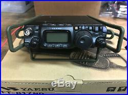 Yaesu FT-817 QRP HF/VHF/UHF Transceiver