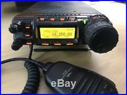 Yaesu FT 857D HF VHF UHF Radio Transceiver