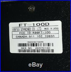 Yaesu Ft-100d Hf/vhf/uhf Multi-mode Transceiver