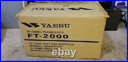 Yaesu Ft 2000 Nice And Clean Look