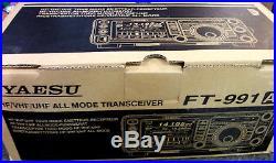 Yaesu Ft-991a Ham Hf Vhf Uhf All Mode Transceiver