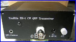 Youkits EK1A 2 Band HF QRP CW transceiver kit   Ham Radio