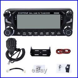 Zastone D9000 50W Car Walkie Talkie 50km Dual Band Mobile Car Radio Transceiver