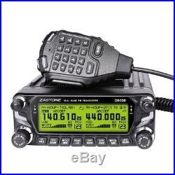 Zastone D9000 Dual Band Mobile Ham Radio NEW VERSION 144/444 Mhz 2 Mtr 70CM FS