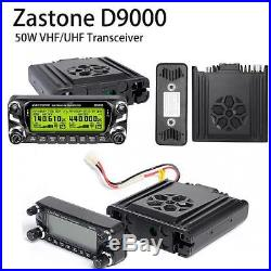Zastone D-9000 Dual Band VHF/UHF Mobile Radio Ham GMRS MURS Business Free SH